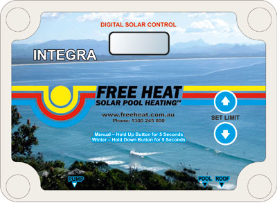 integra solar pool heating unit